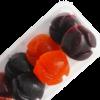 87.Мармелад 100 гр на фруктозе ягодное ассорти подложка